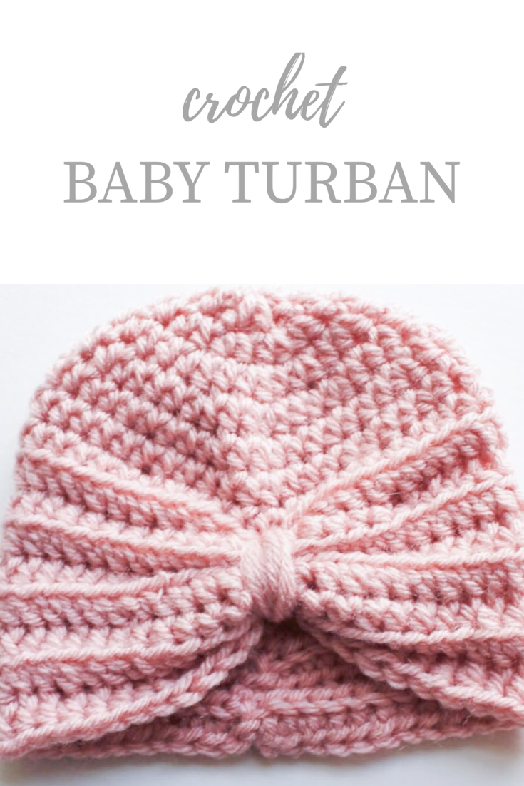 Crochet Baby Turban Pattern Kozy And Co